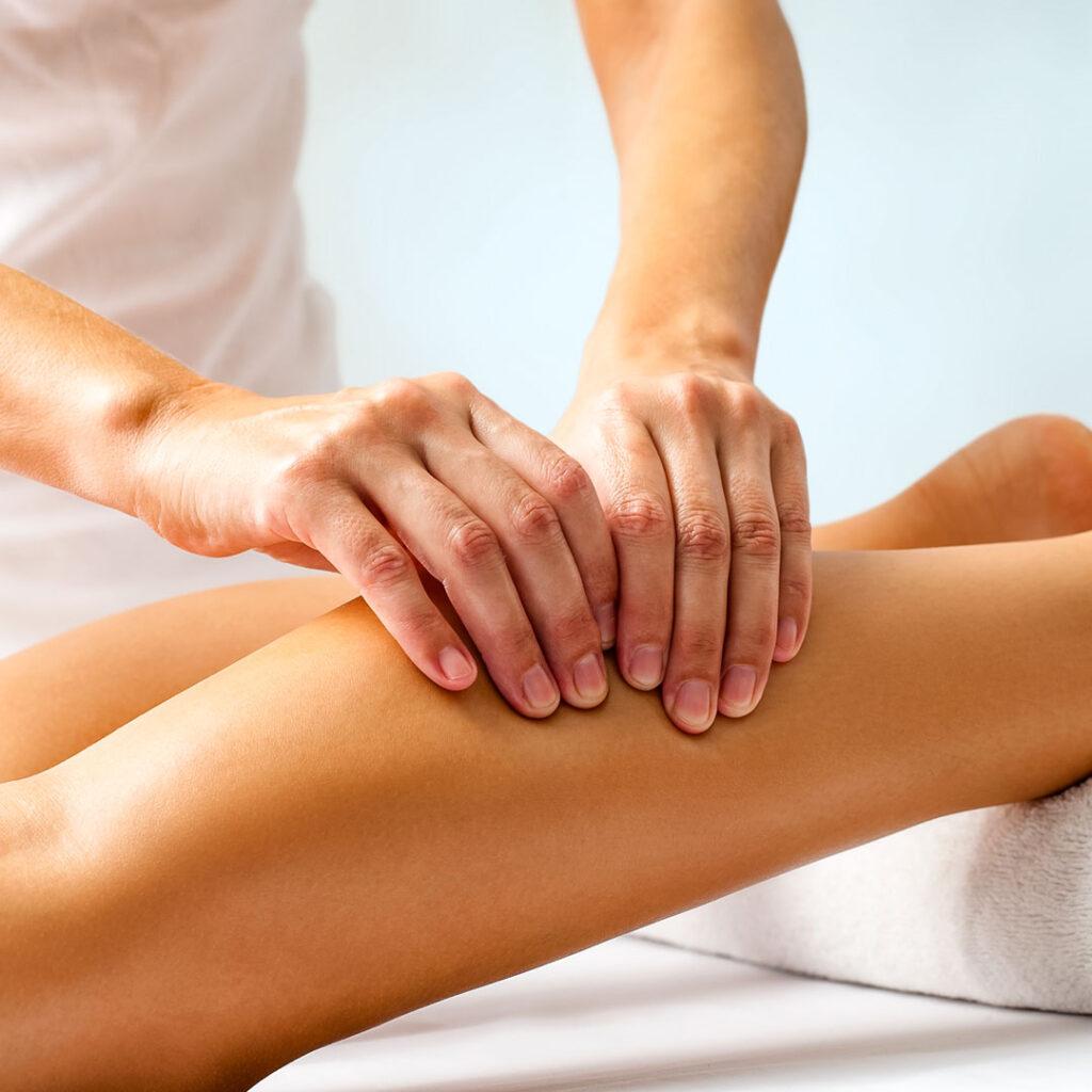 массаж-голени