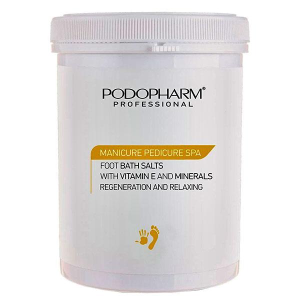 Соль для ванн для ног с витамином Е и минералами